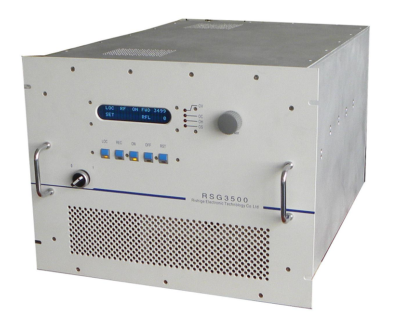 3500 Watt RF power supply 13,56 MHz including manual matching network