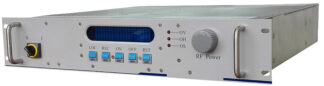 500 Watt RF power supply 13,56 MHz including manual matching network