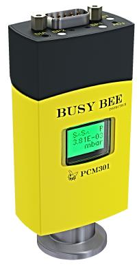 301 Busy Bee pirani/capacitance diaphragm gauge with display and 2 setpoints and atm. switch, DN25KF flange