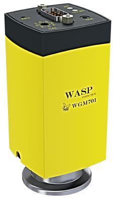 WGM701 Wasp cold cathode inverted magnetron/pirani vacuum gauge, DN40KF flange