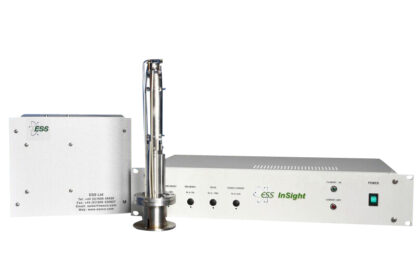 Residual gas mass spectrometer with mass range 0-300 amu, dual detector (Faraday and Multiplier)