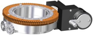 Differentially pumped rotary seal 360º rotation. Manual operated. DN100CF flange with tapped flanges