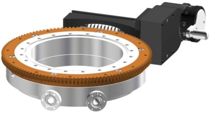 Differentially pumped rotary seal 360º rotation. Manual operated. DN150CF flange with tapped flanges