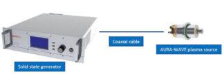 1X450W Aura-Wave ECR plasma source complete setup for 1 source