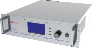 2 kW, 2450 MHz microwave generator with internal pulse mode and digital display
