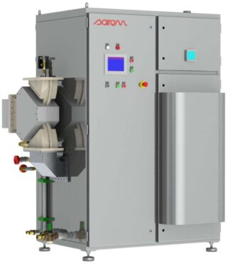 100 kW, 915 MHz magnetron based generator water cooled, continuous mode
