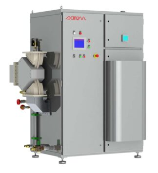 35 kW, 915 MHz magnetron based generator water cooled, continuous mode