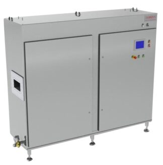 75 kW, 915 MHz magnetron based generator water cooled, continuous mode