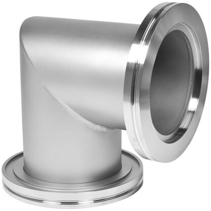 90º mitered elbow DN200ISO, stainless steel 316L