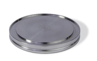ISO-K blank flange DN80ISO, OD = 110mm, stainless steel 316L