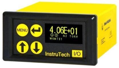 Active Vacuum Gauge controller for Penning and Capacitance Diaphragm gauges