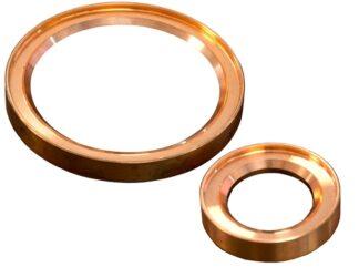 Metal seal copper, DN50KF