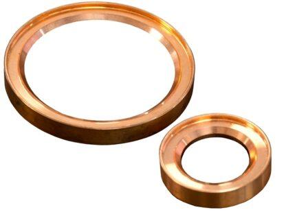 Metal seal copper, DN40KF/DN32KF