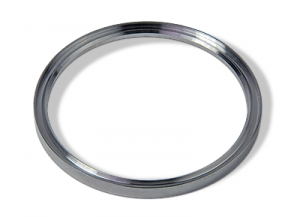 Metal seal Aluminum outer support for tapered style DN63 flange