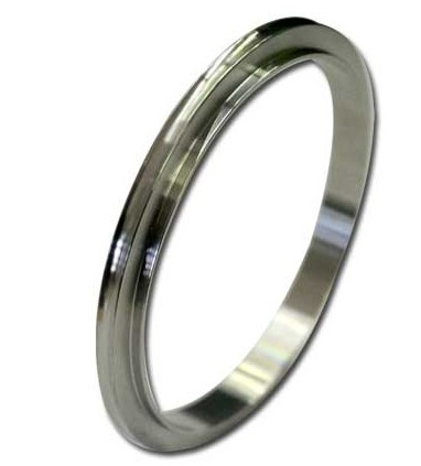 Centering ring Aluminum for tapered style ISO flange DN250