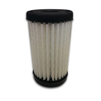 Microfiberglass filter element for VisiMist