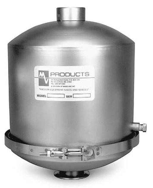 MaxiMist high capacity oil mist eliminator in-line with DN50KF ports