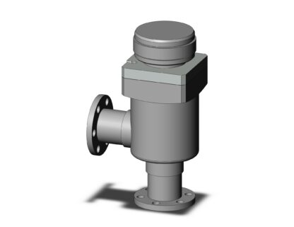 Manual operated, bellow sealed angle valve, DN16CF