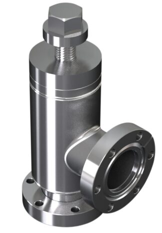 All metal angle valve manual operated DN40CF