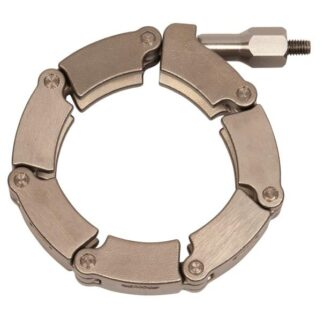 Stainless steel chain clamp for metal seals for DN50KF and DN50CF flange