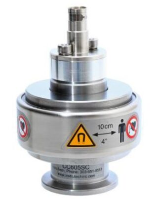 Cold cathode Inverted magnetron ionization High Vacuum gauge, DN40CF