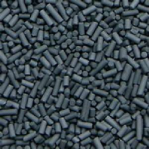 Activated carbon for use in large capacity glovebox solvent removal system (12 pnd)