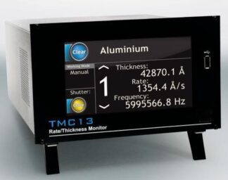 Thickness monitor controler for 6 channels. Frequency resolution 0,01 Hz. Incl cables