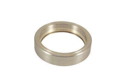 """UV grade Sapphire viewport 1.94"""" view diameter and 2.5"""" diameter Stainless steel weld adapter transmission 250nm to 5 Micron"""
