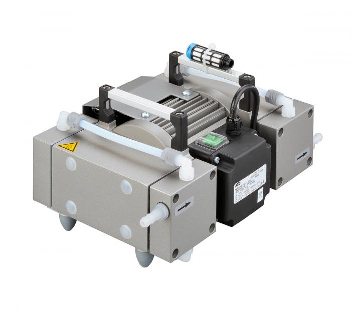 Diaphragm pump MP 201 T, 33l/min, 2mbar