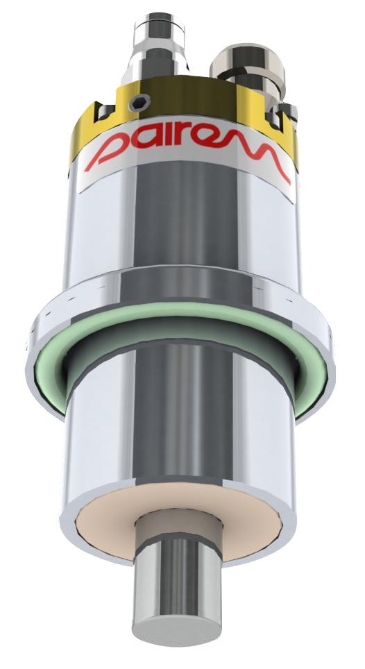 Aura Wave ECR type plasma source on DN40CF flange