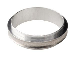 Stainless steel 316L centering ring without O-ring, DN50KF