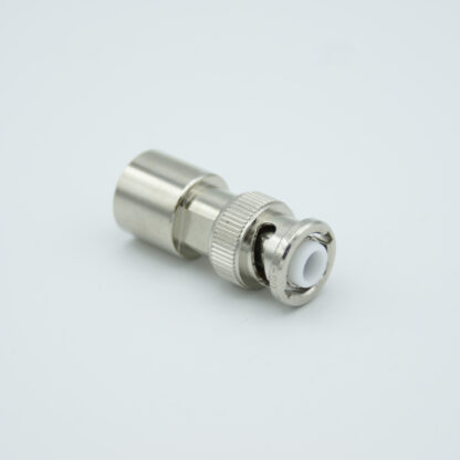 MHV Coax connector vacuum side UHV-style (ceramic)