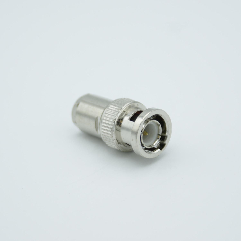 BNC Coax connector vacuum side UHV-style (ceramic)