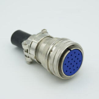 "MS series air-side connector, 20 pins, 700 Volts, 10 Amp per pin, accepts 0.056"" or 0.062"" dia pins"