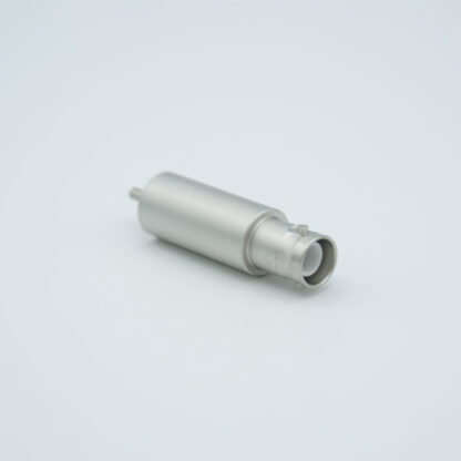 Grounded shield recessed SHV-5 Amp 5000 VDC feedthrough, weld fitting