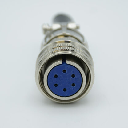 """MS circular air-side connector, 3 pair Thermocouple, type J, accepts 0.056"""" dia. pins"""