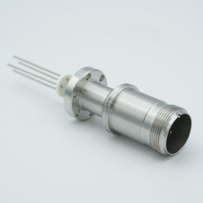 10 pin feedthrough with air-side connector 700Volt / 10 Amp. DN40CF
