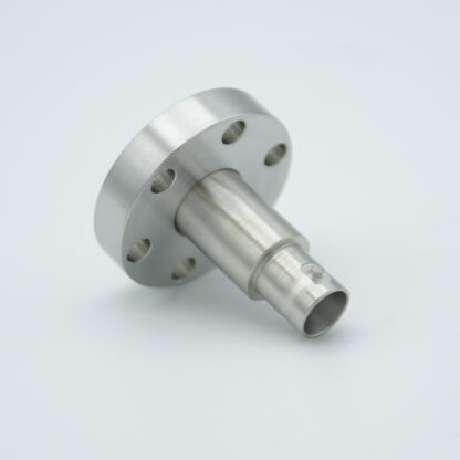 Grounded shield, single ended BNC feedthrough 500V / 3 Amp. DN19CF without air side connector