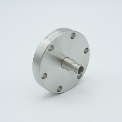 Grounded shield, single ended BNC feedthrough 500V / 3 Amp, DN40CF without air side connector