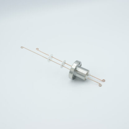 1 pair Thermocouple type-R or S feedthrough with both side connectors included, DN19CF flange