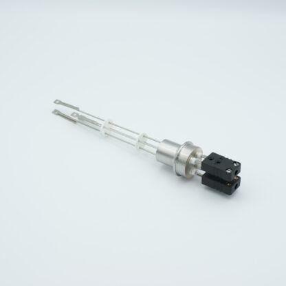2 pair Thermocouple type-J feedthrough with both side connectors included, weld fitting
