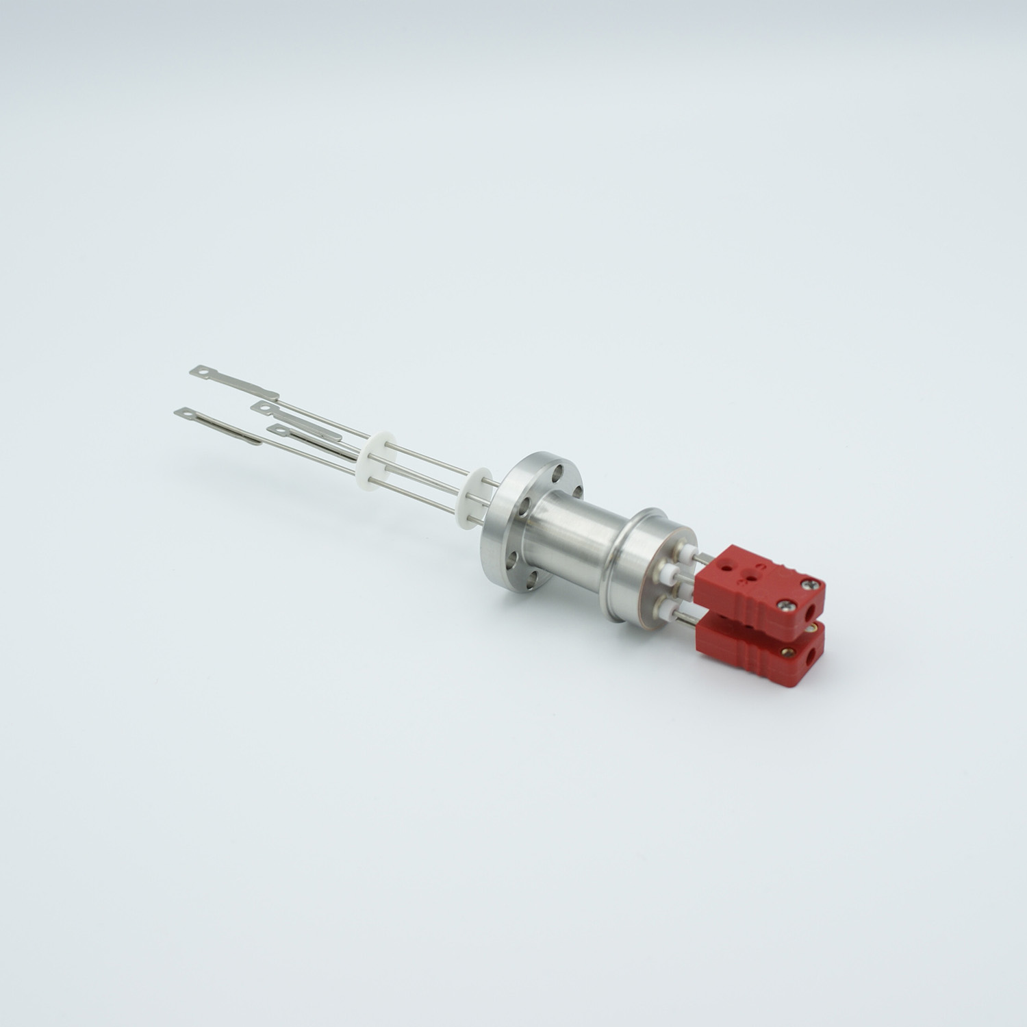 2 pair Thermocouple type-C feedthrough with both side connectors included, DN19CF flange