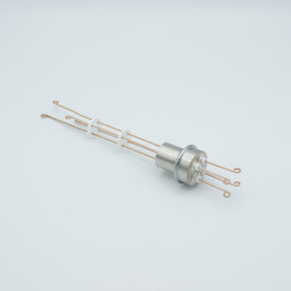 2 pair Thermocouple type-R or S feedthrough with both side connectors included, weld fitting