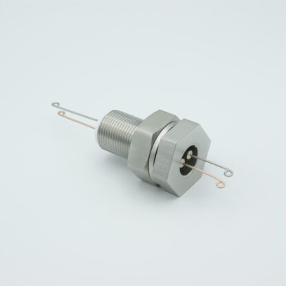1 pair Thermocouple type-T feedthrough with both side connectors included, base plate fitting