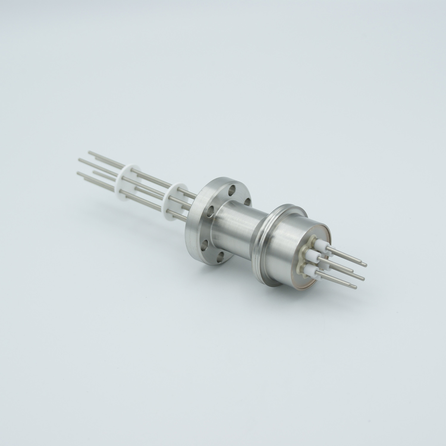 3 pair Thermocouple type-J feedthrough for push on connectors, DN19CF flange