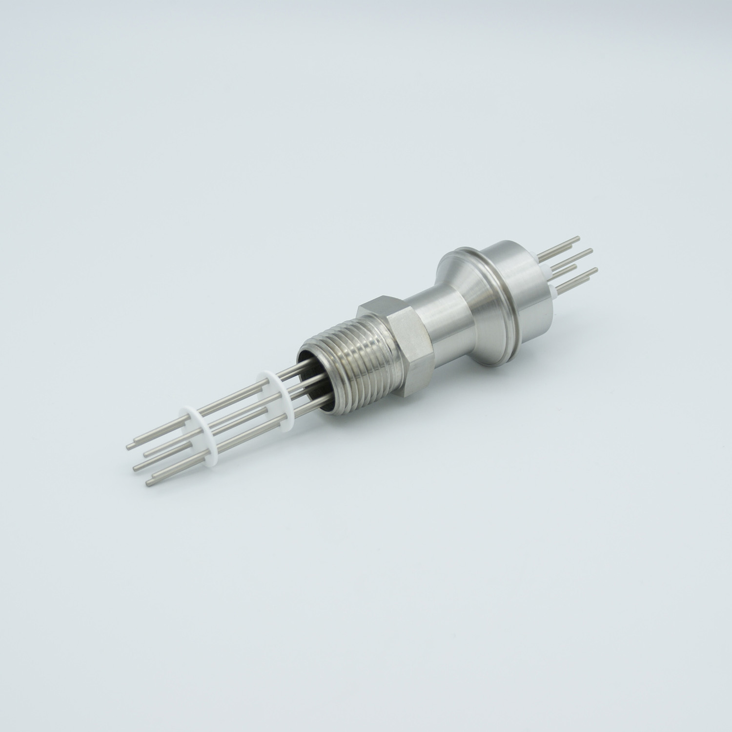 3 pair Thermocouple type-J feedthrough for push on connectors, 1/2