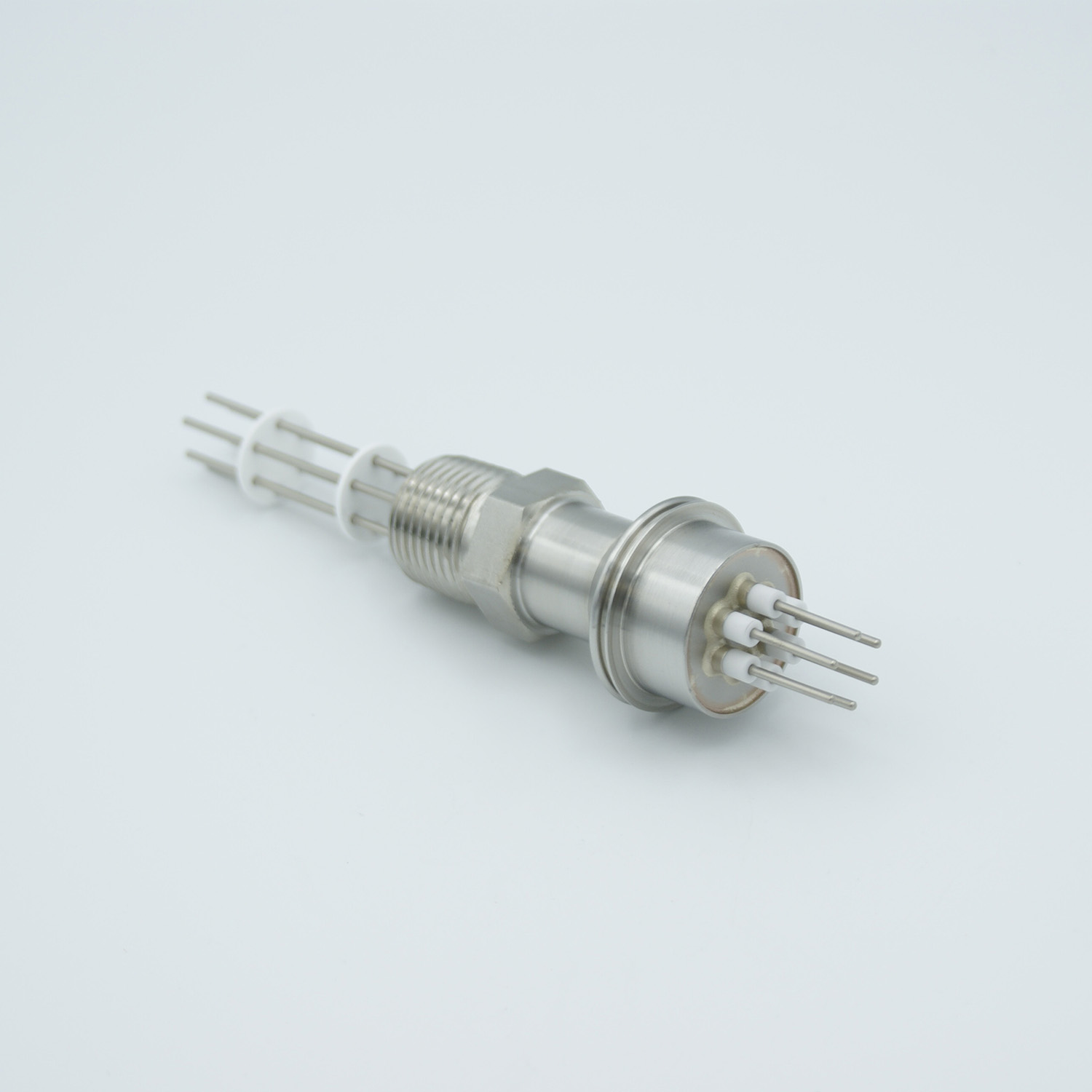 3 pair Thermocouple type-E feedthrough for push on connectors, 1/2