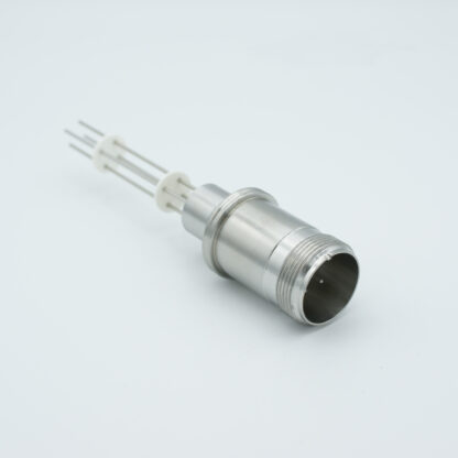 2 pair Thermocouple type-K with MS connector on atmospheric side, weld fitting