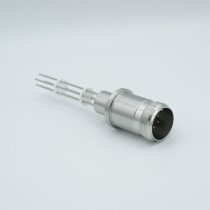 2 pair Thermocouple type-J with MS connector on atmospheric side, weld fitting
