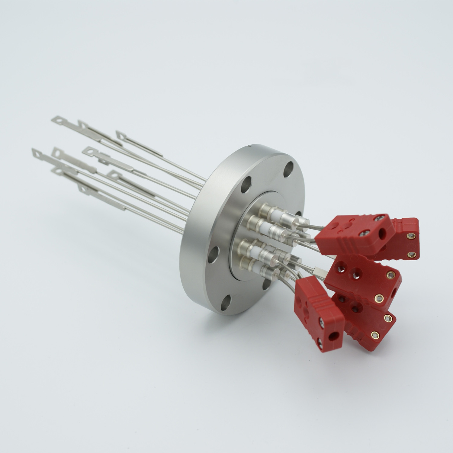 5 pair Thermocouple type-C feedthrough with both side connectors included, DN40CF flange
